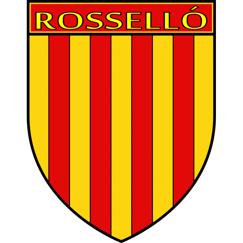 Autocollant Ecu province du Roussillon