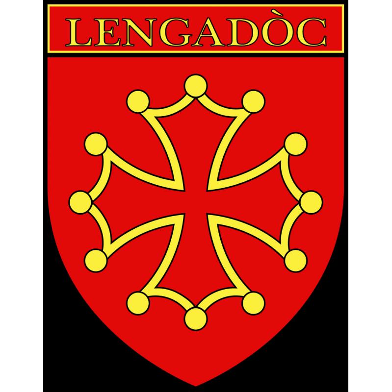 Autocollant Ecu province du Languedoc