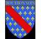 Autocollant Ecu province du Bourbonnais