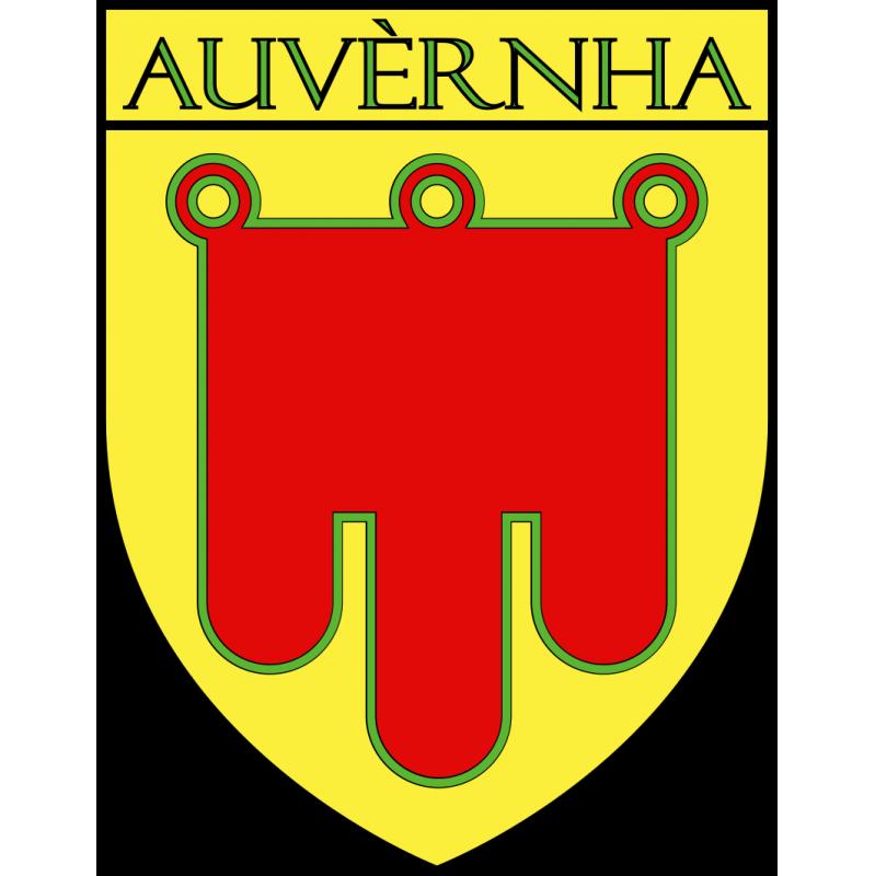 Autocollant Ecu province d'Auvergne