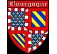 Autocollant Ecu province de Bourgogne