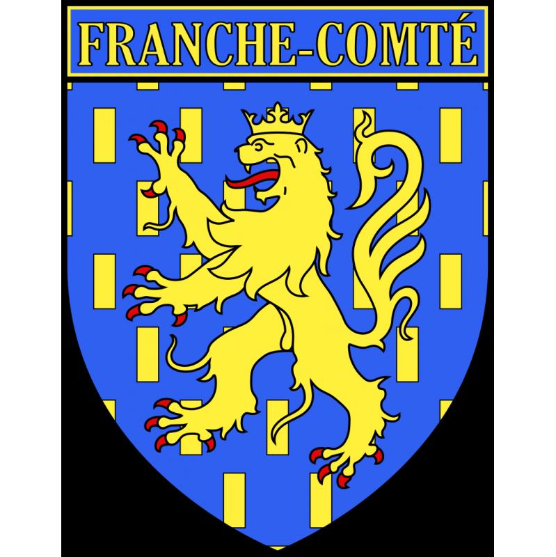 Autocollant Ecu province de Franche-Comté