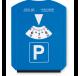 Disque de stationnement - grattoir