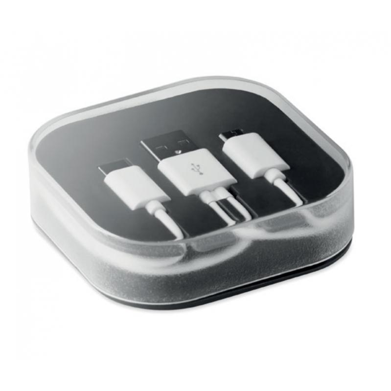 Un cable de charge USB pour ne plus jamais vous ennuyer lors de vos trajets en voiture avec mon-blason !