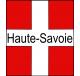 Sticker Haute-Savoie logo plaque immatriculation