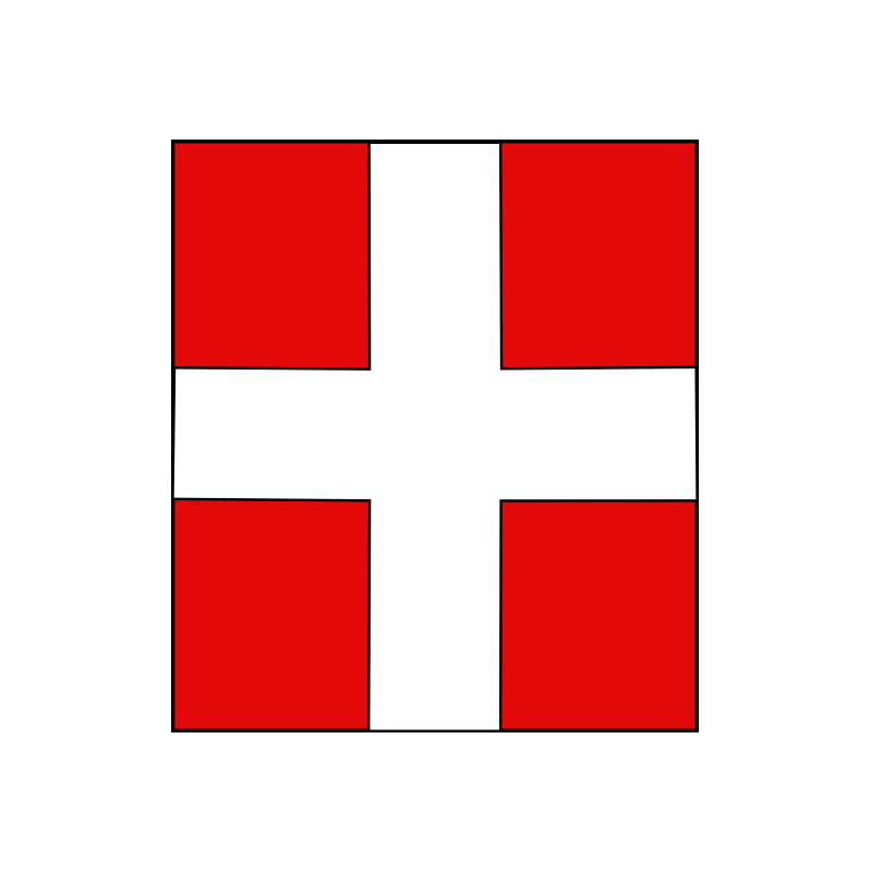 Sticker Savoie logo plaque immatriculation