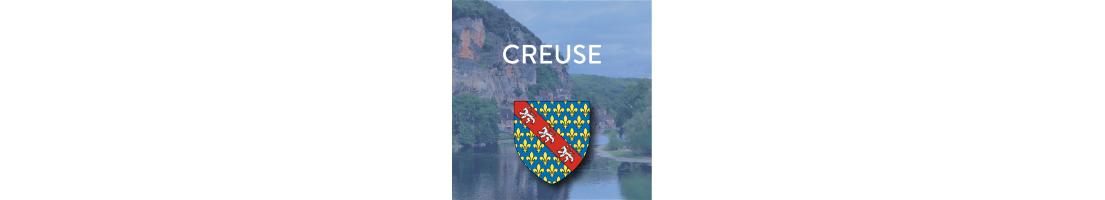 Autocollants du département de la Creuse (23)