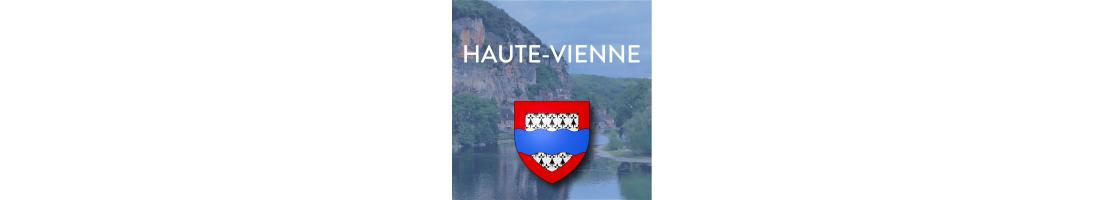 Autocollants du département de la Haute-Vienne (87)