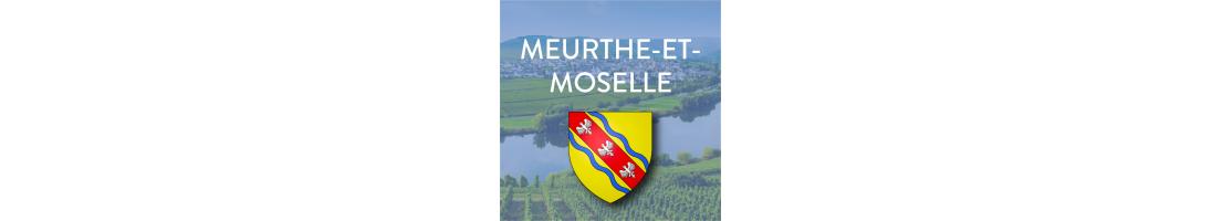 Autocollants du département de la Meurthe-et-Moselle (54)