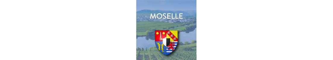Autocollants du département de la Moselle (57)