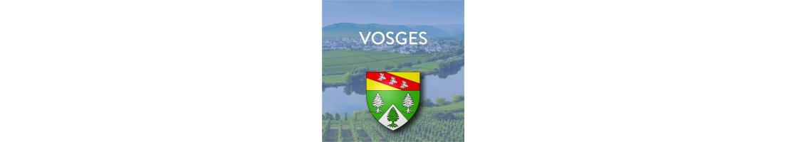 Autocollants du département des Vosges (88)