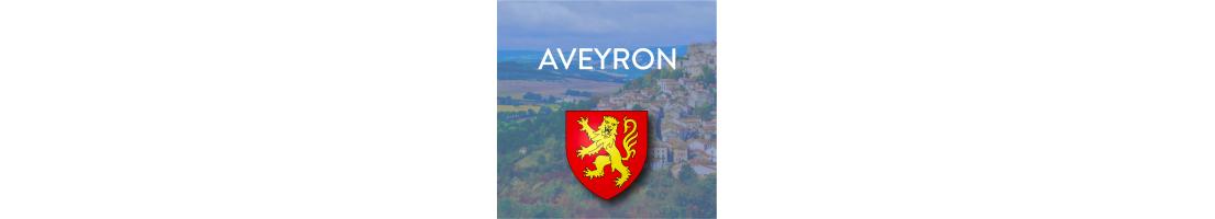 Autocollants du département de l'Aveyron (12)