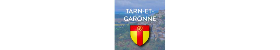 Autocollants du département du Tarn-et-Garonne (82)