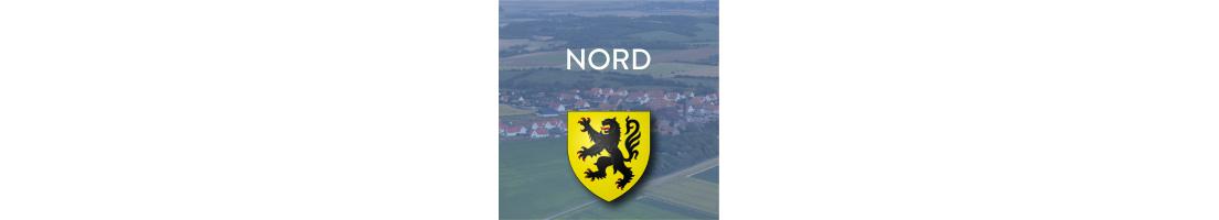 Autocollants du département du Nord (59)
