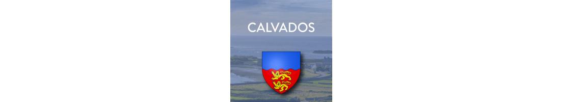 Autocollants du département du Calvados (14)