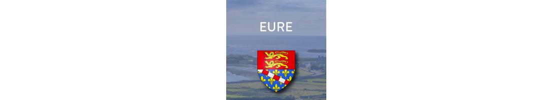 Autocollants du département de l'Eure (27)
