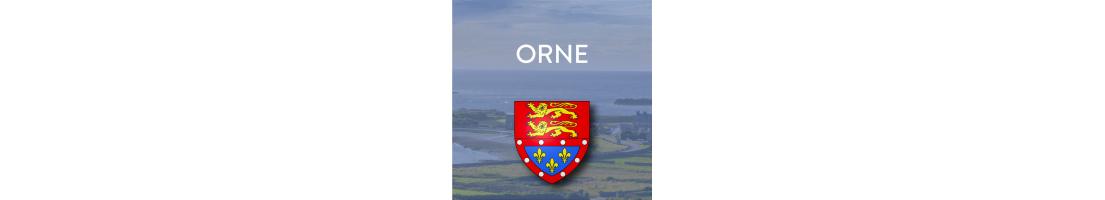 Autocollants du département de l'Orne (61)