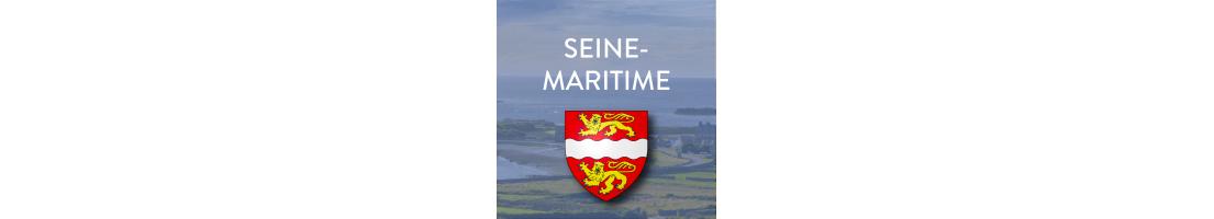 Autocollants du département de la Seine-Maritime (76)