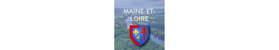 Autocollants du département du Maine-et-Loire (49)