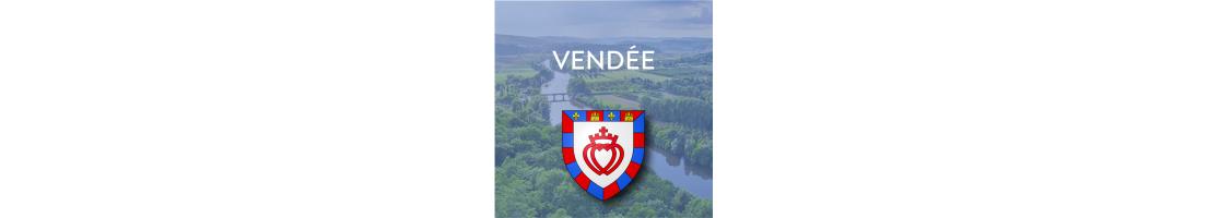 Autocollants du département de la Vendée (85)