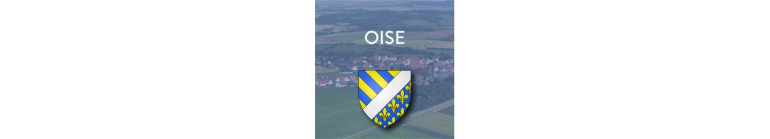 Autocollants du département de l'Oise (60)