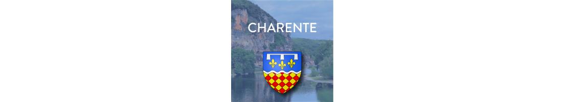 Autocollants du département de la Charente (16)
