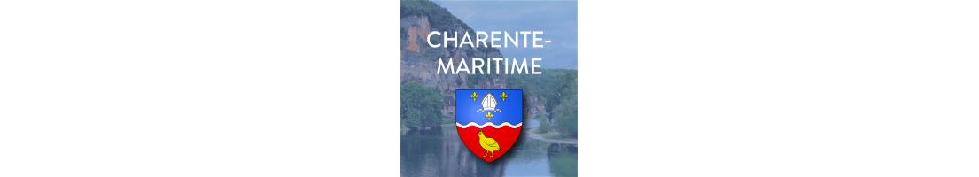 Autocollants du département de la Charente-Maritime (17)