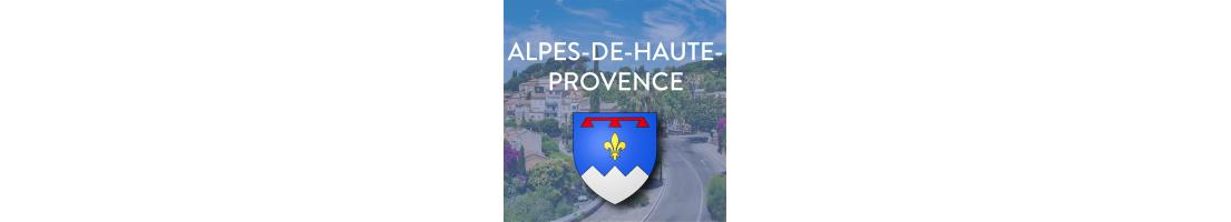 Autocollants du département des Alpes de Haute-Provence (04)