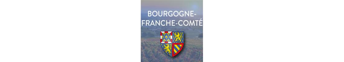 Autocollants  Bourgogne-Franche-Comté pour plaques minéralogiques