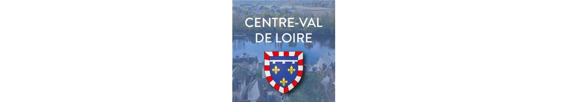 Autocollants pour plaques de la région Centre-Val de Loire