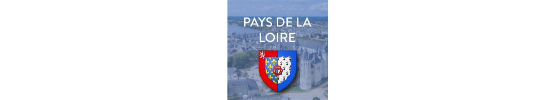 Autocollant Pays de la Loire pour plaques d'immatriculation Auto/moto - Mon-Blason
