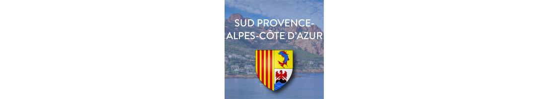 Autocollants Sud Provence-Alpes-Côte d'Azur pour plaques auto/moto - Mon-Blason