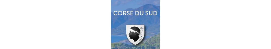 Autocollants du départements de la Corse du Sud