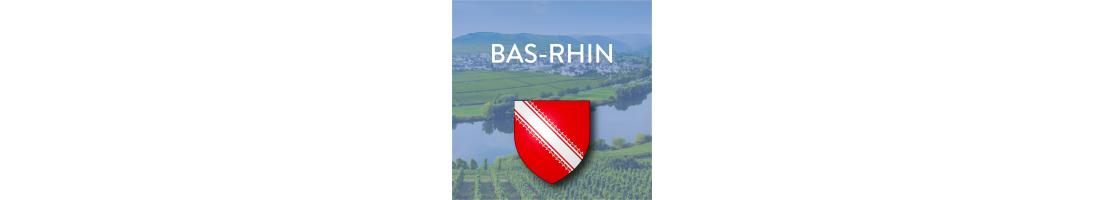 Autocollants du département du Bas-Rhin (67)