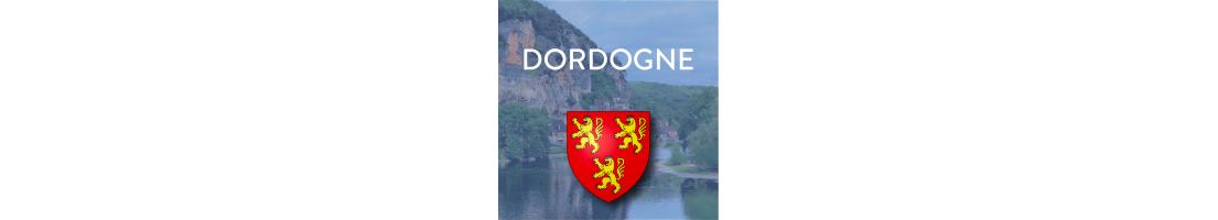 Autocollants du département de la Dordogne (24)