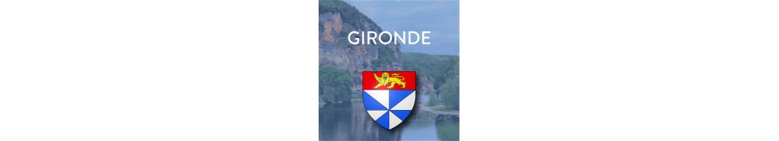 Autocollants du département de la Gironde (33)