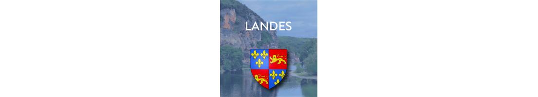Autocollants du département des Landes (40)