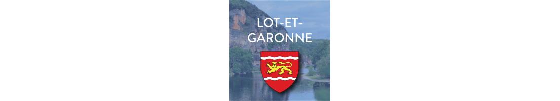 Autocollants du département du Lot-et-Garonne (47)