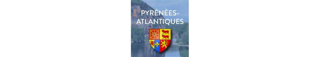 Autocollants du département des Pyrénées-Atlantiques (64)