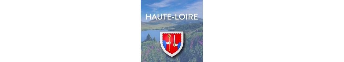 Tous nos autocollants du département de la Haute-Loire (43)