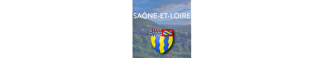 Autocollants du département de la Saône-et-Loire (71)