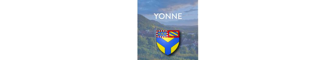 Autocollants du département de l'Yonne (89)