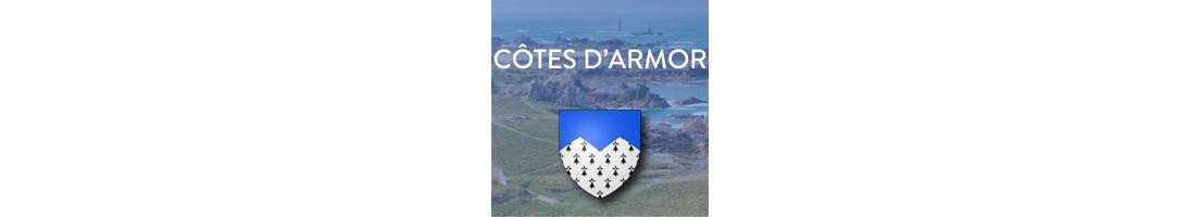 Autocollants du département des Côtes d'Armor (22)