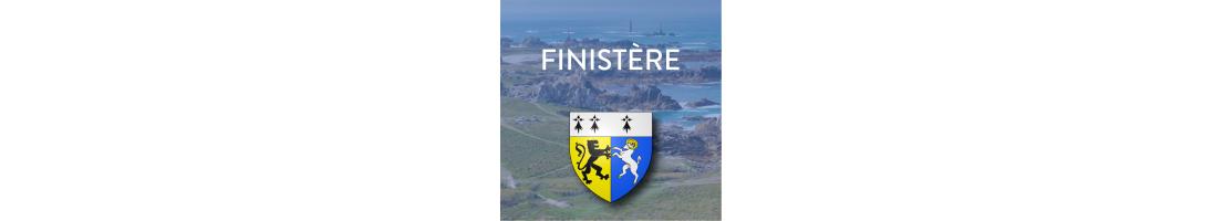 Autocollants du département du Finistère (29)