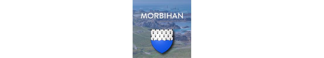 Autocollants du département du Morbihan (56)