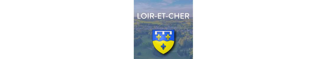 Autocollants du département du Loir-et-Cher (41)