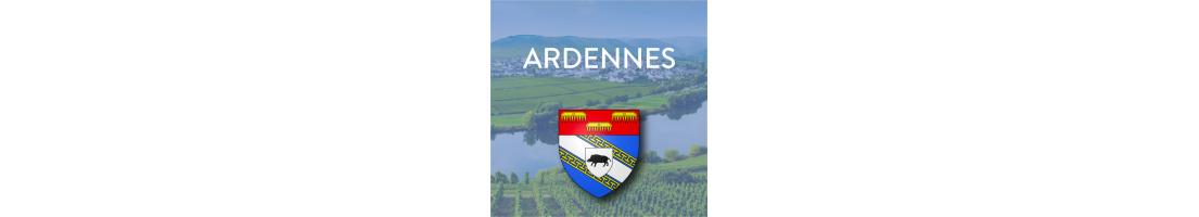 Autocollants du département des Ardennes (08)