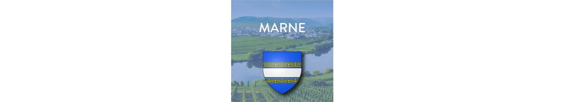 Autocollants du département de la Marne (51)