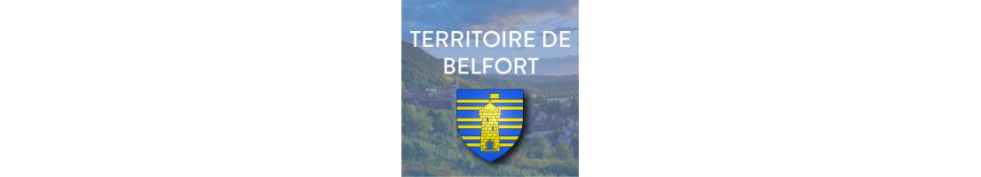 Autocollants du département du Territoire de Belfort (90)