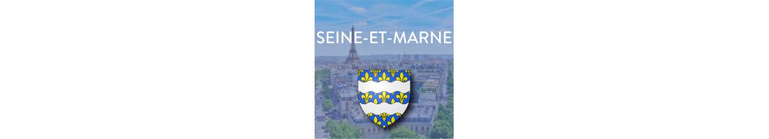Autocollants du département de la Seine-et-Marne (77)